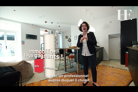 frame video immobilier