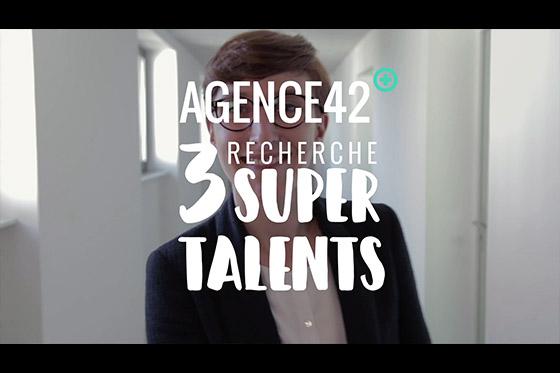 image video Agence42 recherche 3 super talents - La caméra jaune